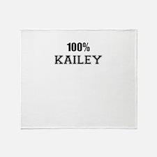 100% KAILEY Throw Blanket
