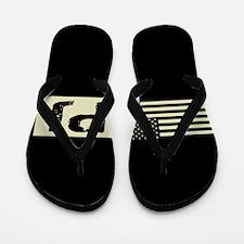 U.S. Air Force: Pararescue (Black Flag) Flip Flops