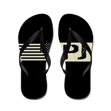 U.S. Air Force: Pararescue (PJ) Black F Flip Flops
