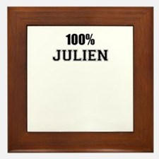 100% JULIEN Framed Tile