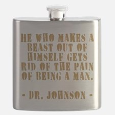 Make a Beast Out of Yourself Flask