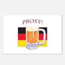 German Beer Prost Postcards (Package of 8)