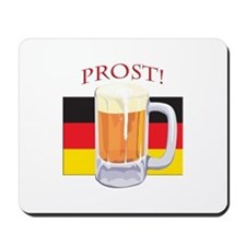 German Beer Prost Mousepad