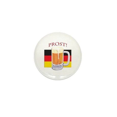 German Beer Prost Mini Button (10 pack)