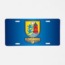 Flensburg Aluminum License Plate