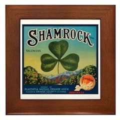 St. Patrick's Day 11 Framed Tile