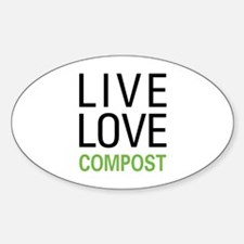 Live Love Compost Bumper Stickers