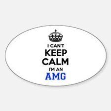 I cant keep calm Im AMG Decal
