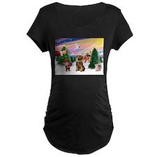 Santa's Treat /Border T T-Shirt