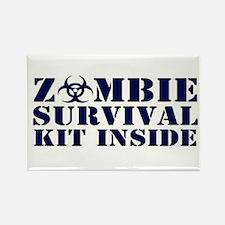 Zombie Survival Kit Inside Magnets