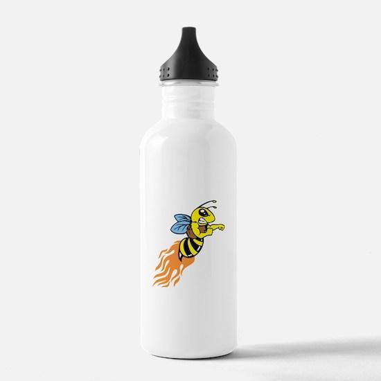 Bee Mascot Water Bottle
