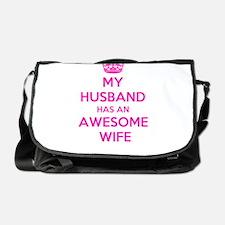 Funny Couples Messenger Bag
