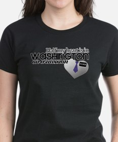 Half my heart is in Washington T-Shirt