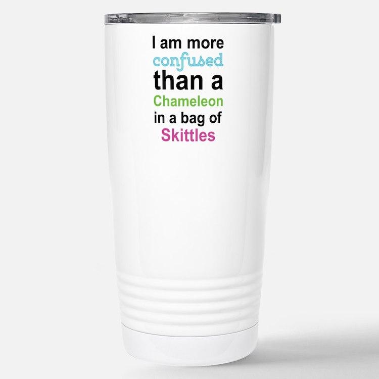 Cute Skittles Travel Mug
