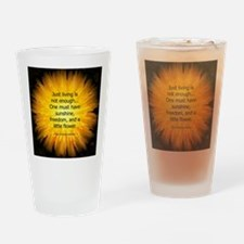 Funny Christian writers Drinking Glass
