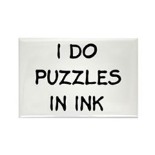 in ink Rectangle Magnet