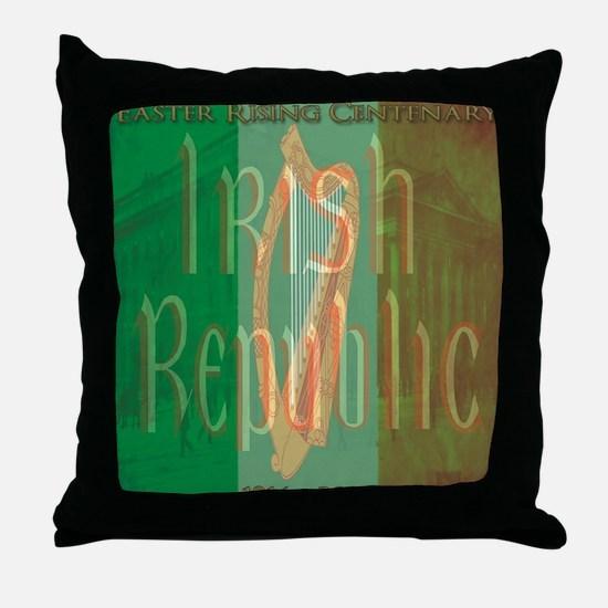 Cute Dublin Throw Pillow