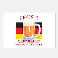Munich Germany Oktoberfest Postcards (Package of 8