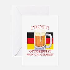 Munich Germany Oktoberfest Greeting Card