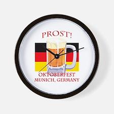 Munich Germany Oktoberfest Wall Clock