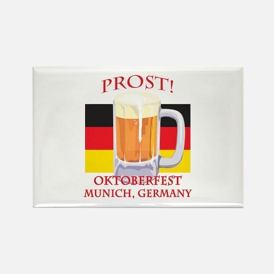 Munich Germany Oktoberfest Rectangle Magnet