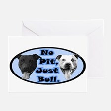 No Pit, Just Bull. Greeting Cards (Pk of 10)