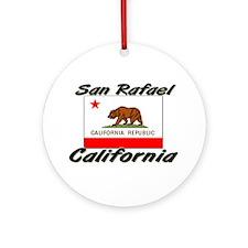 San Rafael California Ornament (Round)