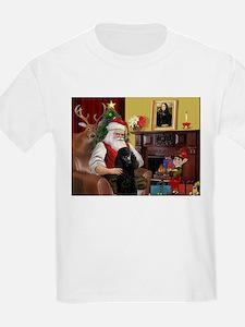 Santa's Poodle (ST-B2) T-Shirt
