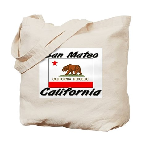 San Mateo California Tote Bag