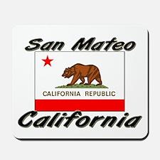 San Mateo California Mousepad