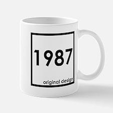 1987 age birthday year original design Mugs