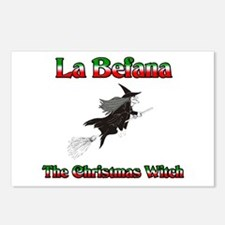 La Befana The Christmas Witch Postcards (Package o
