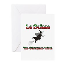 La Befana The Christmas Witch Greeting Cards (Pk o