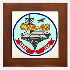 USS Coral Sea (CVA 43) Framed Tile