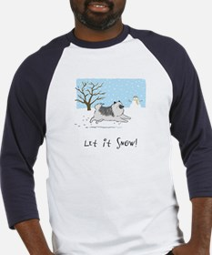 "Keesie ""Let It Snow"" Baseball Jersey"