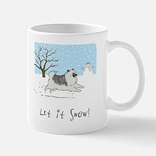 """Keesie """"Let It Snow"""" Mug"""