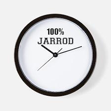 100% JARROD Wall Clock