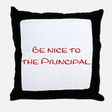 Principal Throw Pillow