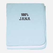 100% JANA baby blanket