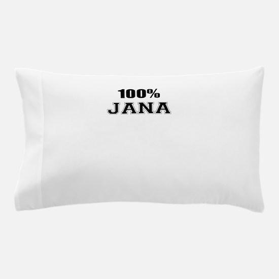 100% JANA Pillow Case