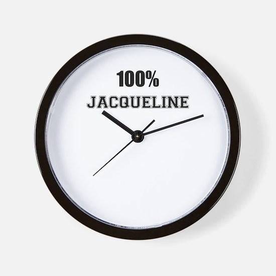 100% JACQUELINE Wall Clock