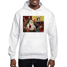 Santa's Maltese Hoodie