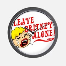 Leave Britney Alone Wall Clock