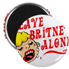Leave Britney Alone Magnet
