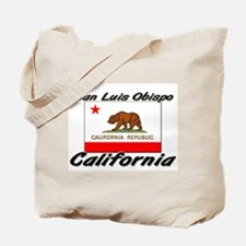 San Luis Obispo California Tote Bag