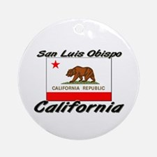 San Luis Obispo California Ornament (Round)