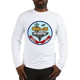 Uss coral sea Long Sleeve T-shirts
