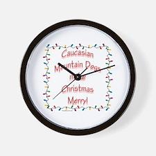 Caucasian Merry Wall Clock