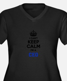 I cant keep calm Im CEO Plus Size T-Shirt
