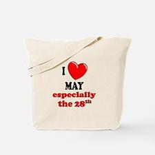 May 28th Tote Bag